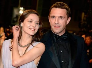 Вдовиченков с женой
